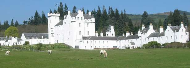 Castles in Perthshire
