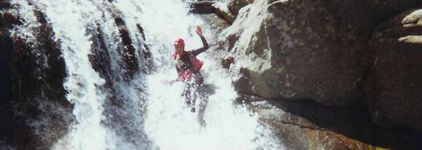 river canyoning & gorge walking In Perthshire