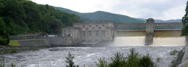 Pitlochry Dam & Fish Ladder