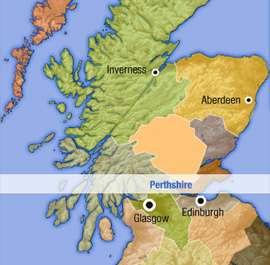Perthshire Map